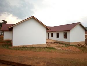 Ny hospitalsbygning under opførelse